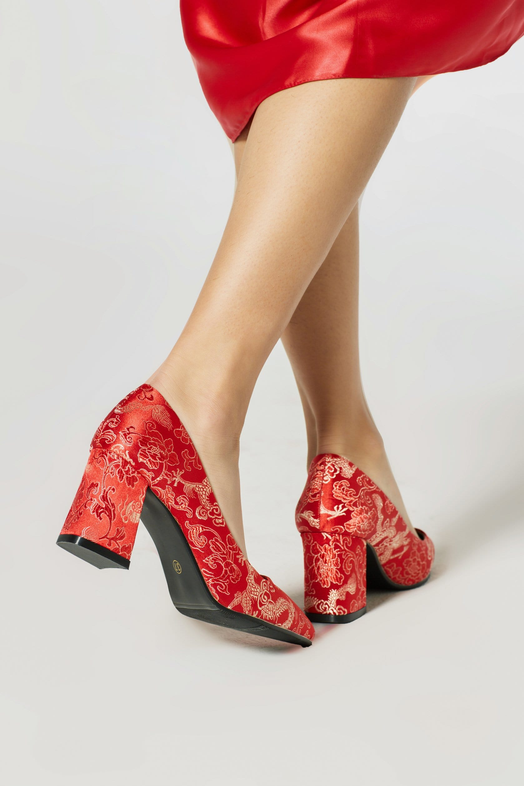 Dragon's Gate Heels - Accessories - East Meets Dress