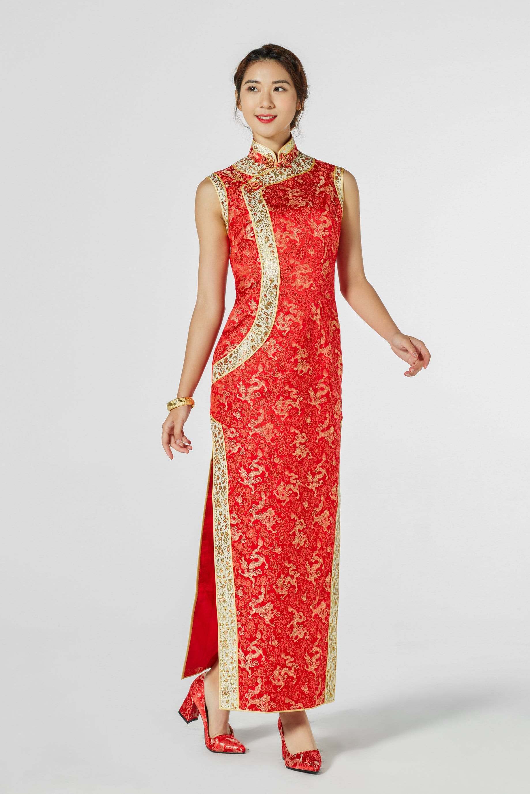 Jessica Bespoke Dress - Cheongsam - East Meets Dress
