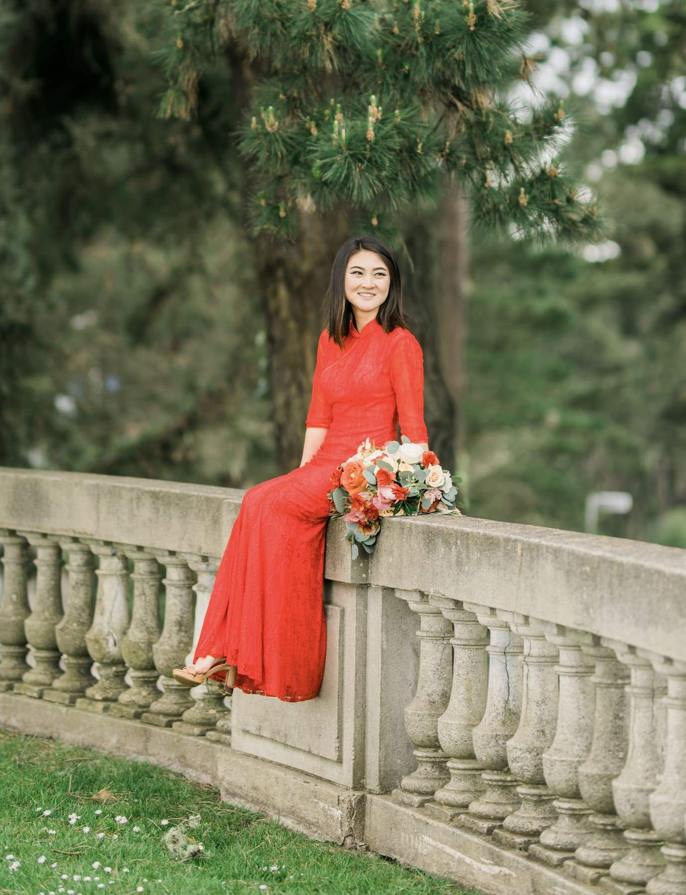 Emma Bespoke Dress | Modern Chinese Wedding Dress