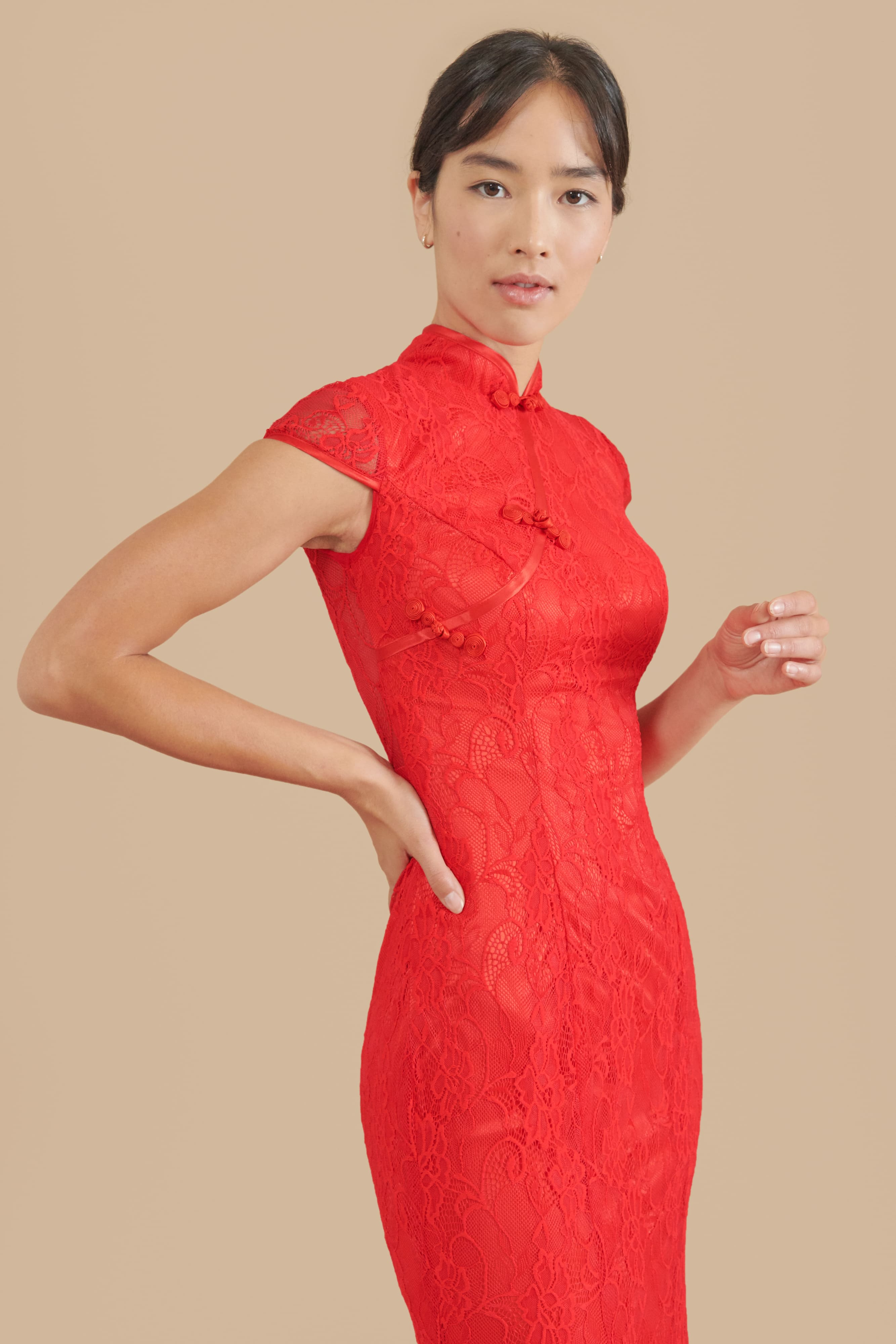 Emma Dress - Ships Now | Modern Cheongsam