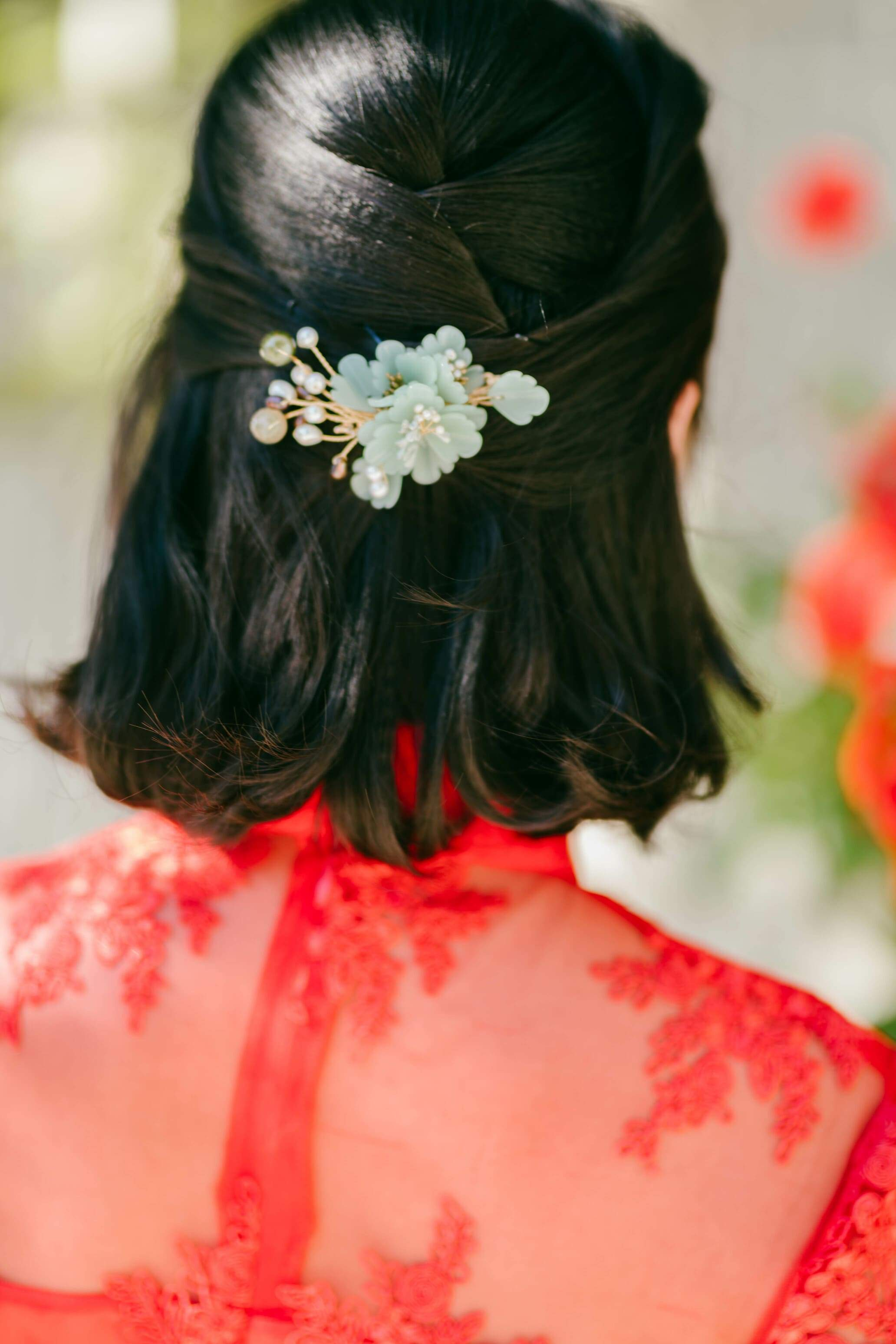 Jade Chinese Wedding Hairclip