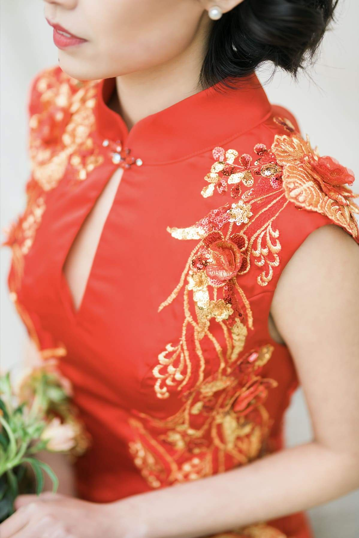 Maxine Bespoke Dress | Modern Chinese Wedding Dress