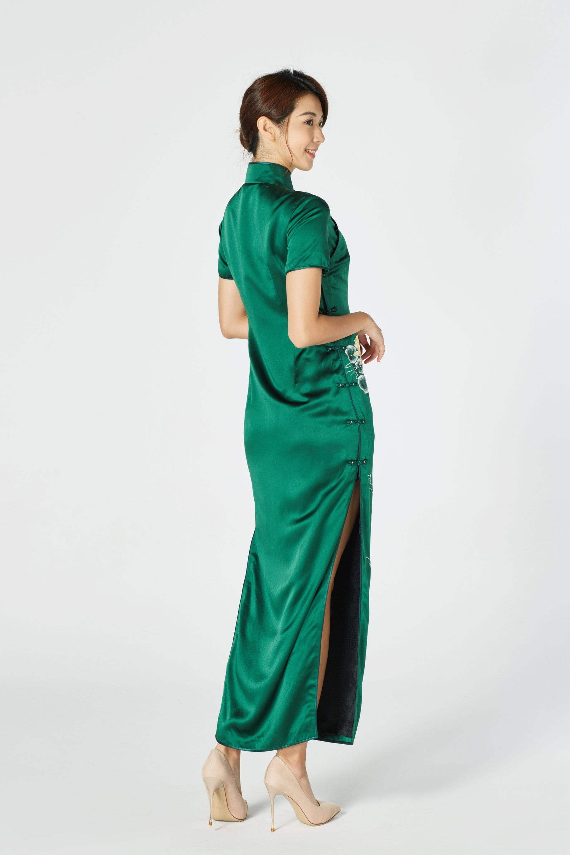 Ming-Na Bespoke Dress - Cheongsam - East Meets Dress