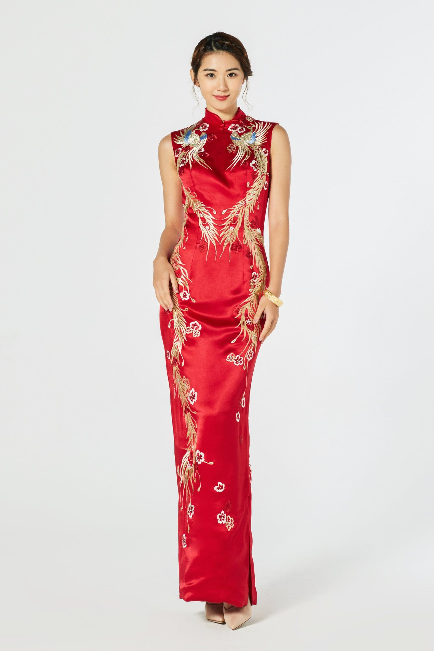 Phoebe Bespoke Dress - Cheongsam - East Meets Dress