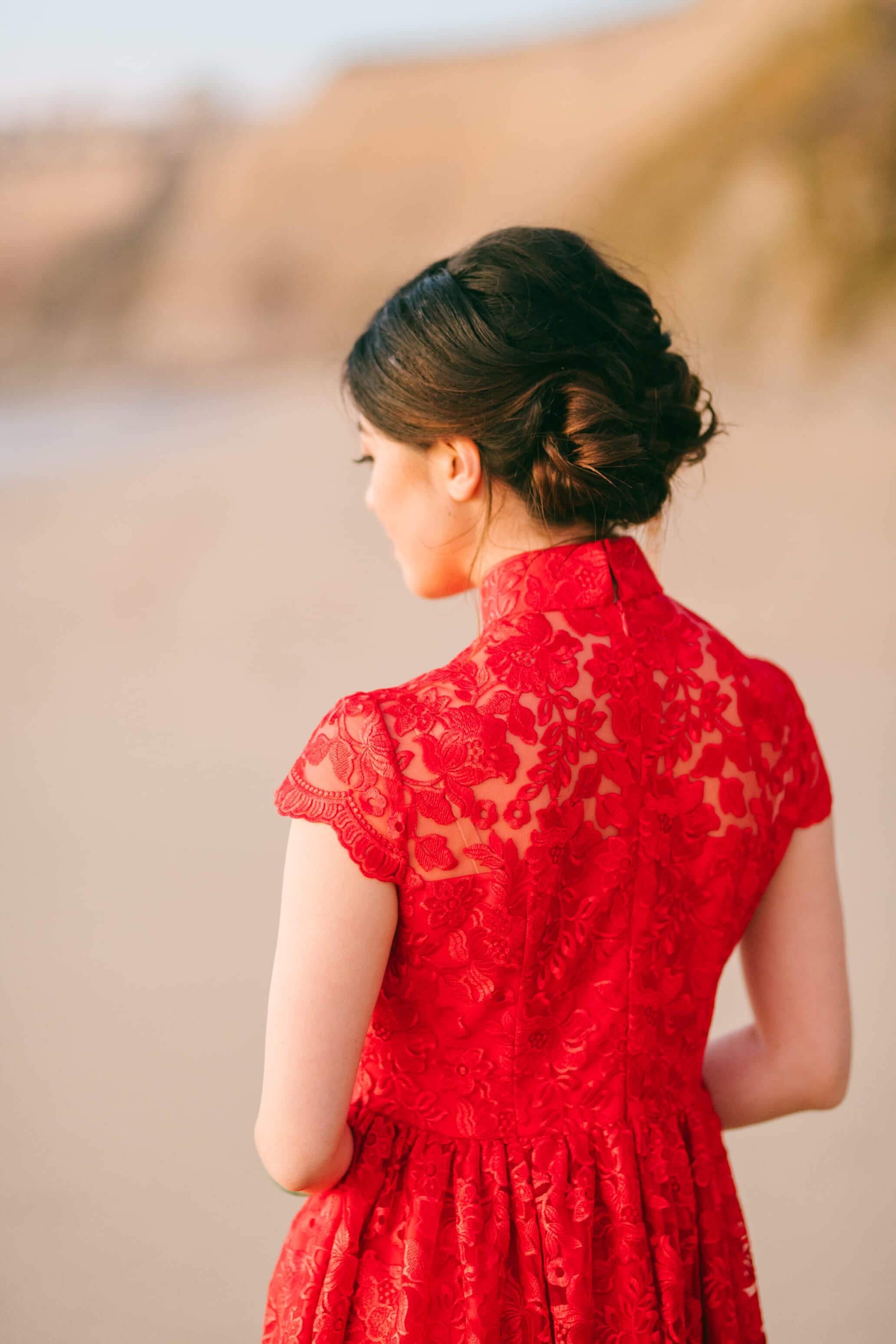 Maya Bespoke Dress | Wedding Qipao