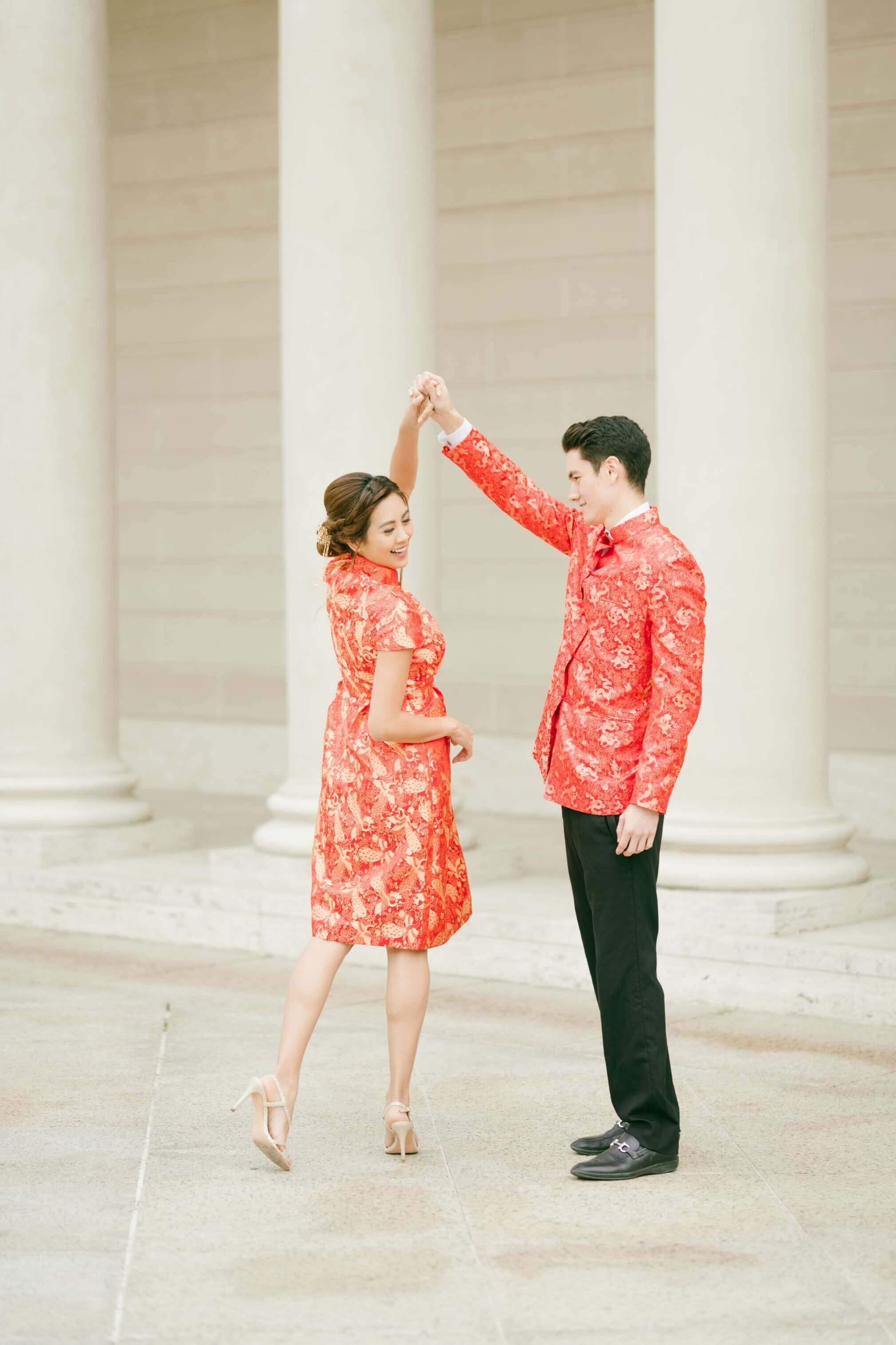Rachel Bespoke Dress | Short Brocade Cheongsam