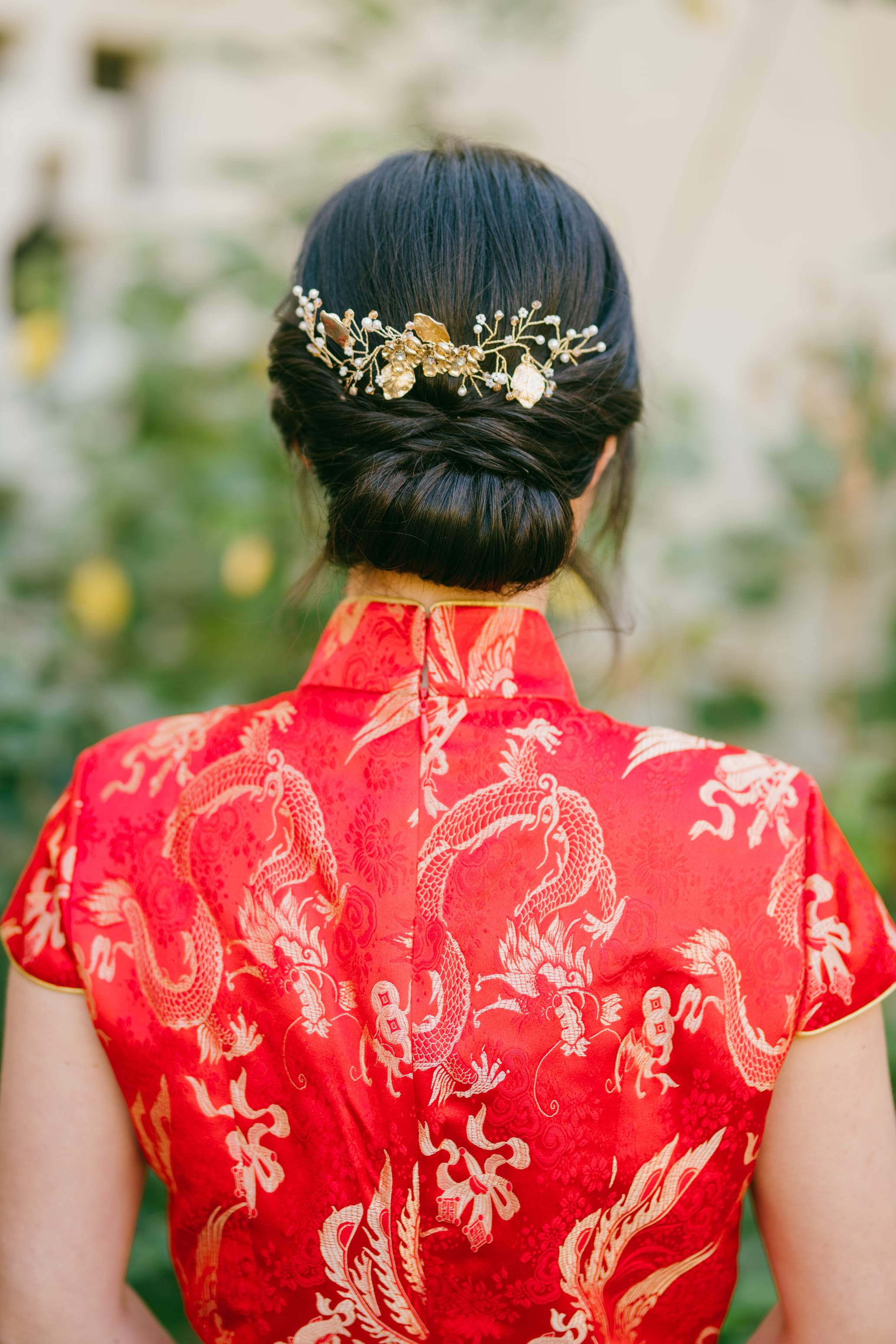 Sunrise Chinese Wedding Hairpiece