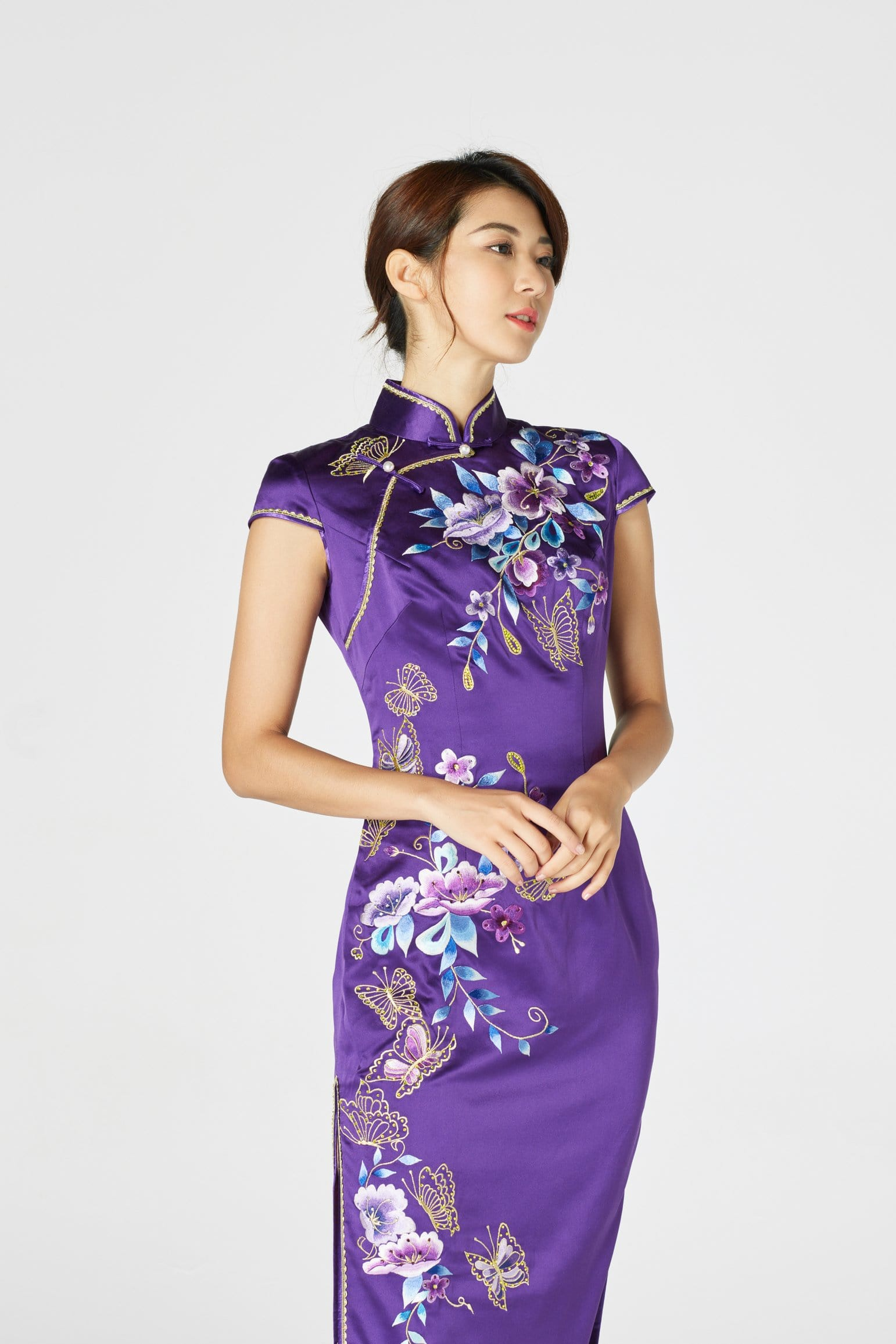 Tammy Bespoke Dress - Cheongsam - East Meets Dress