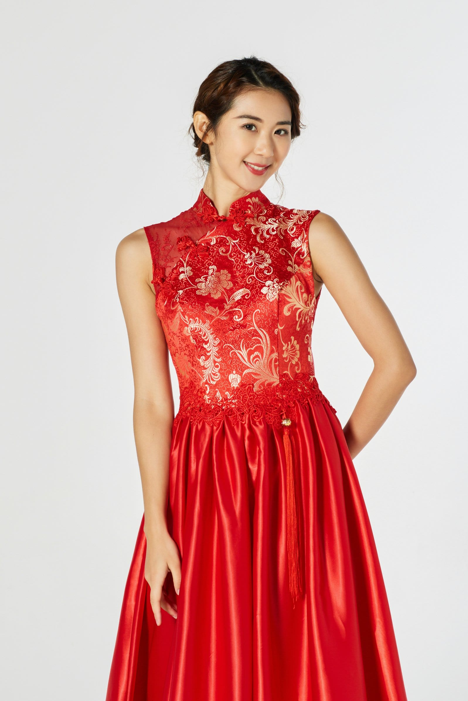Verena Bespoke Dress - Cheongsam - East Meets Dress