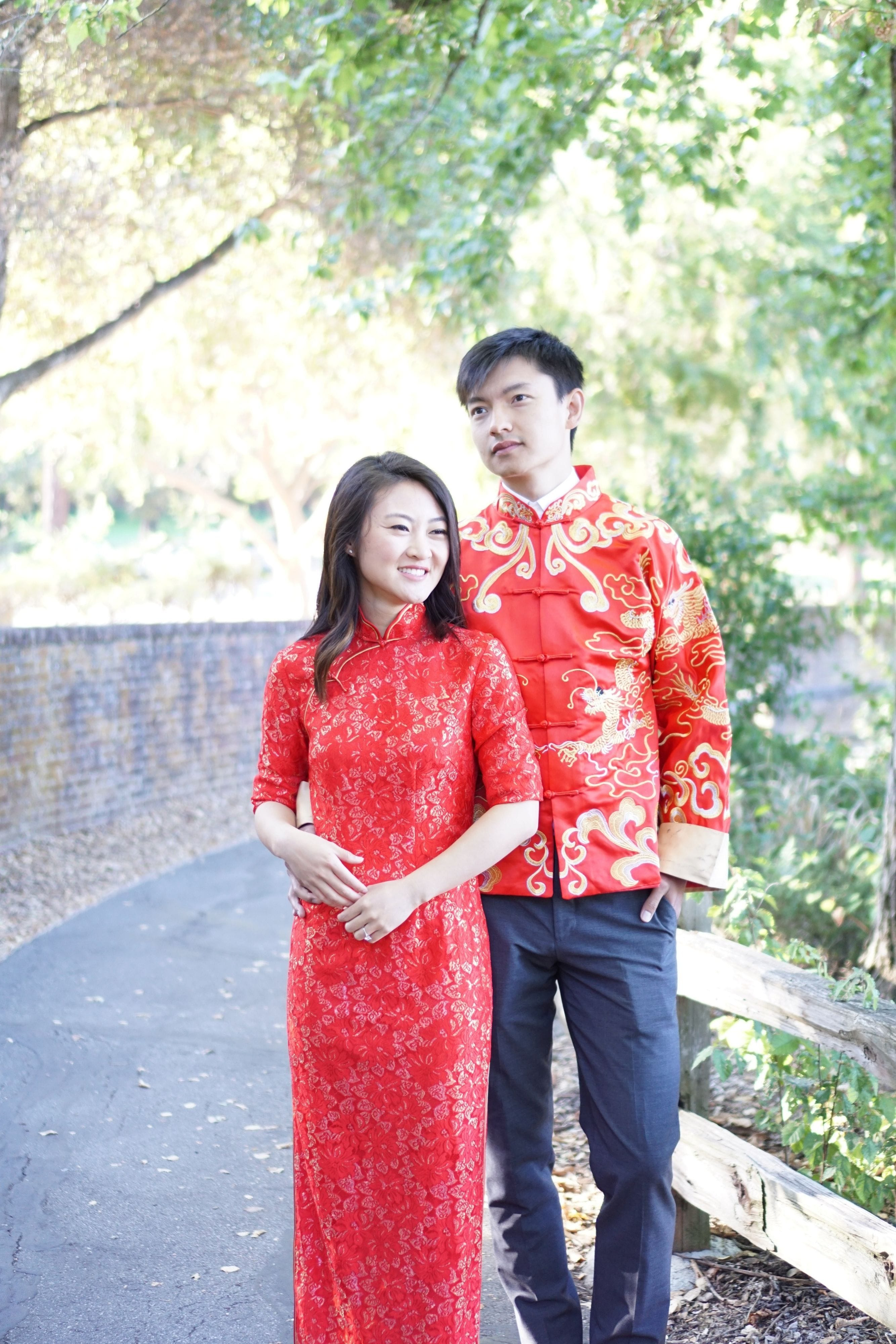 Vienna Bespoke Dress | Chinese Tea Ceremony Dress