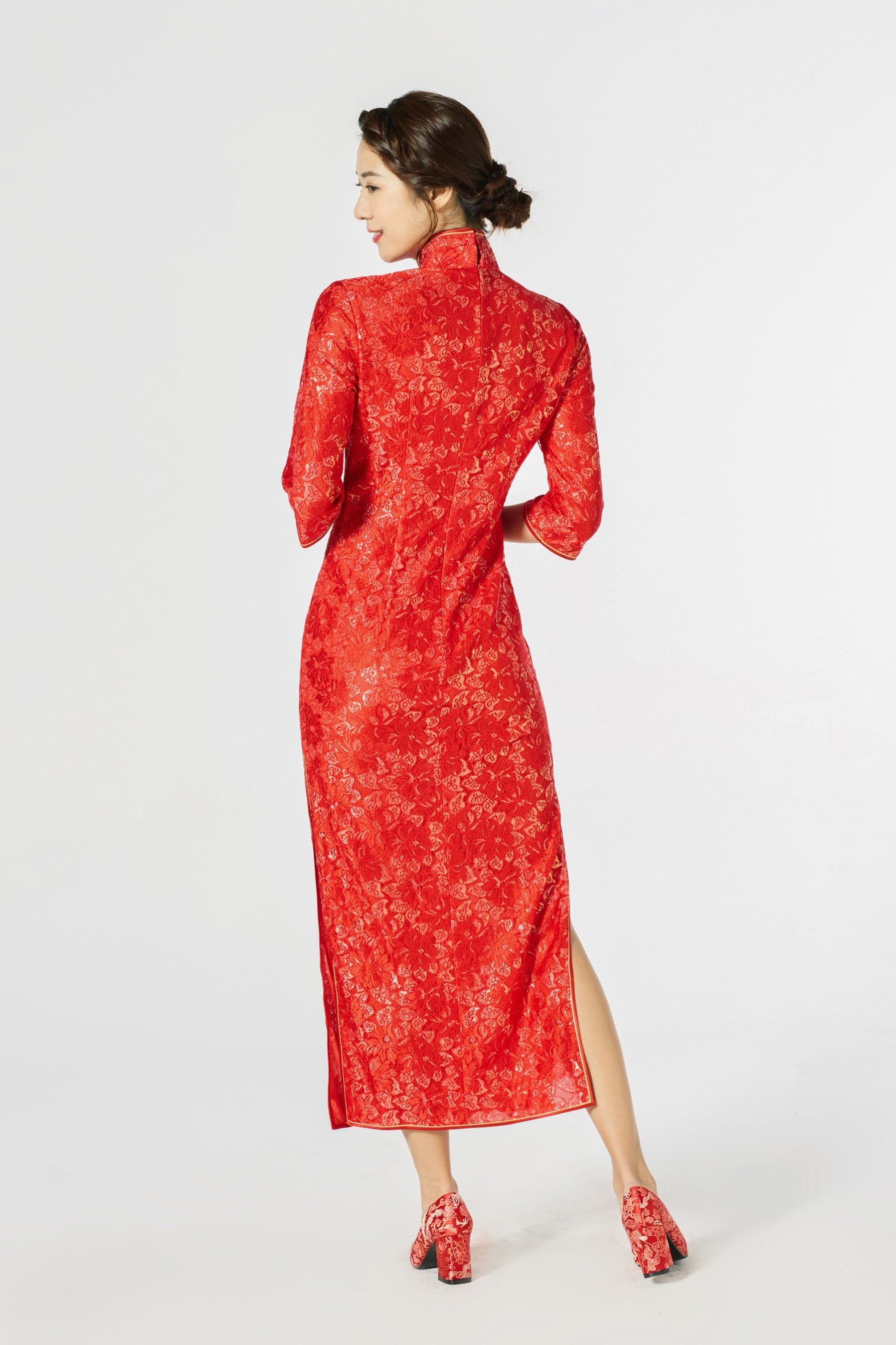Vienna Bespoke Dress - Cheongsam - East Meets Dress