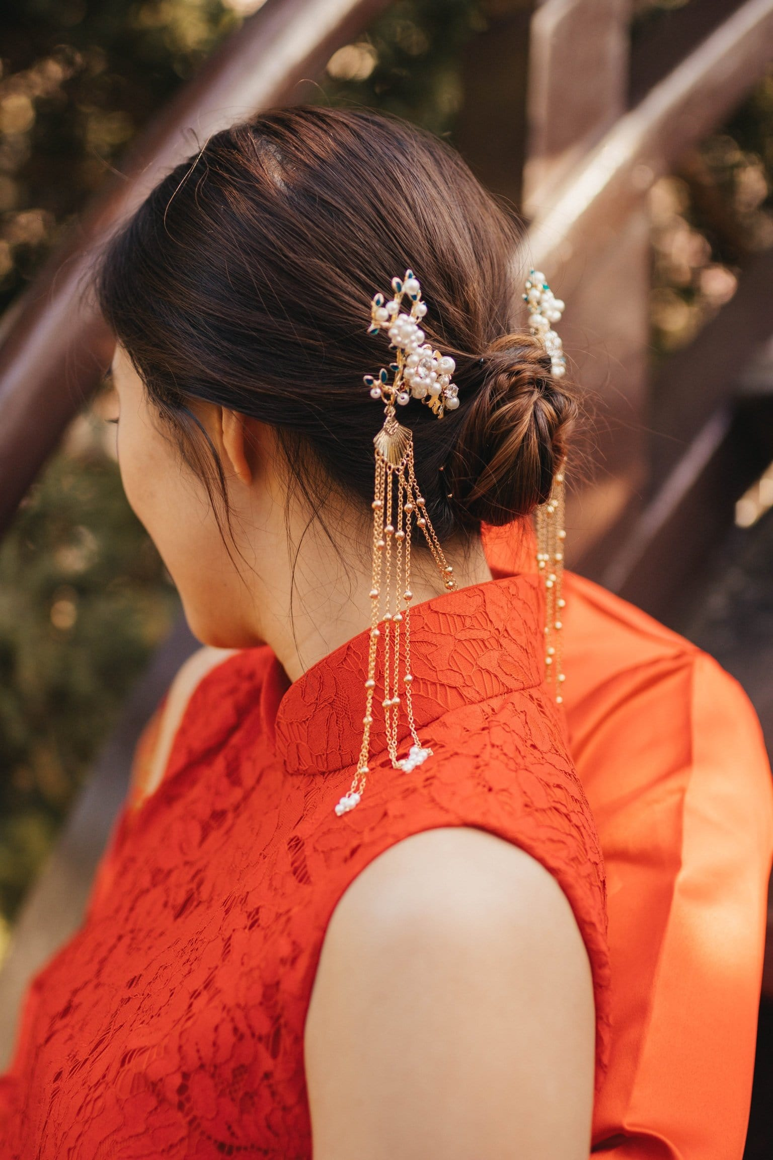 Pearl Hairpin - Accessories - East Meets Dress