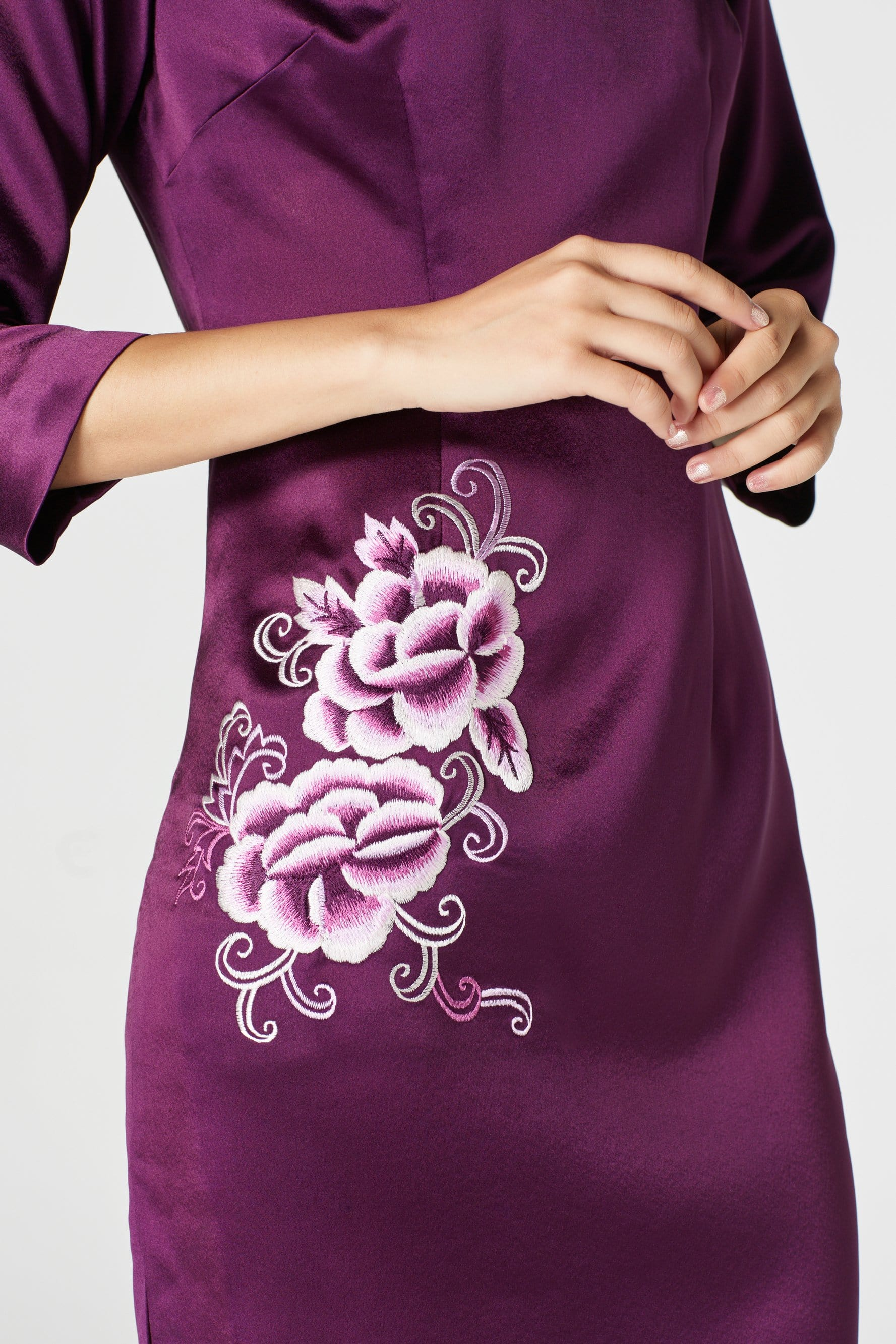 Lauren Dress - Cheongsam - East Meets Dress