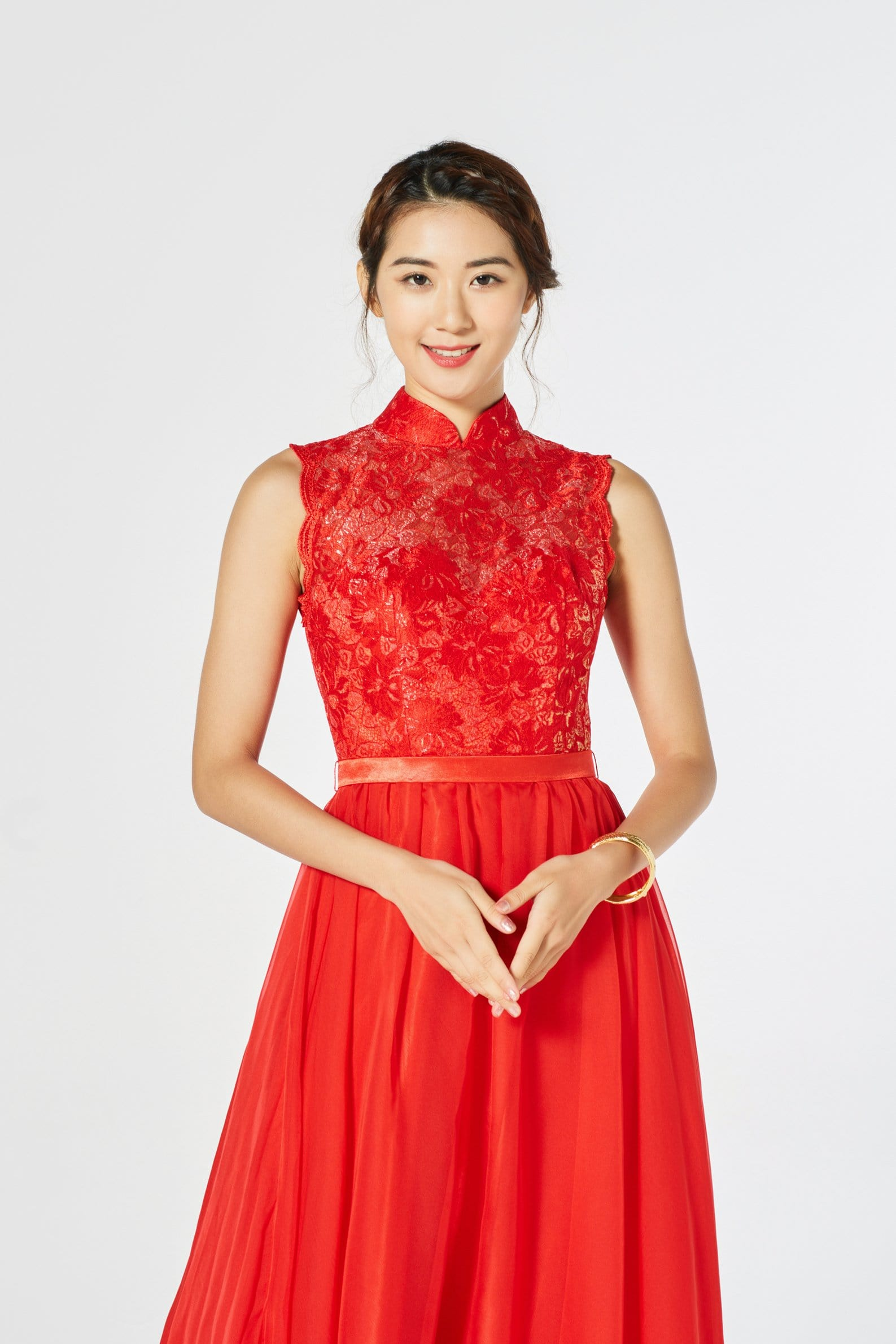 Amelia Bespoke Dress - Cheongsam - East Meets Dress