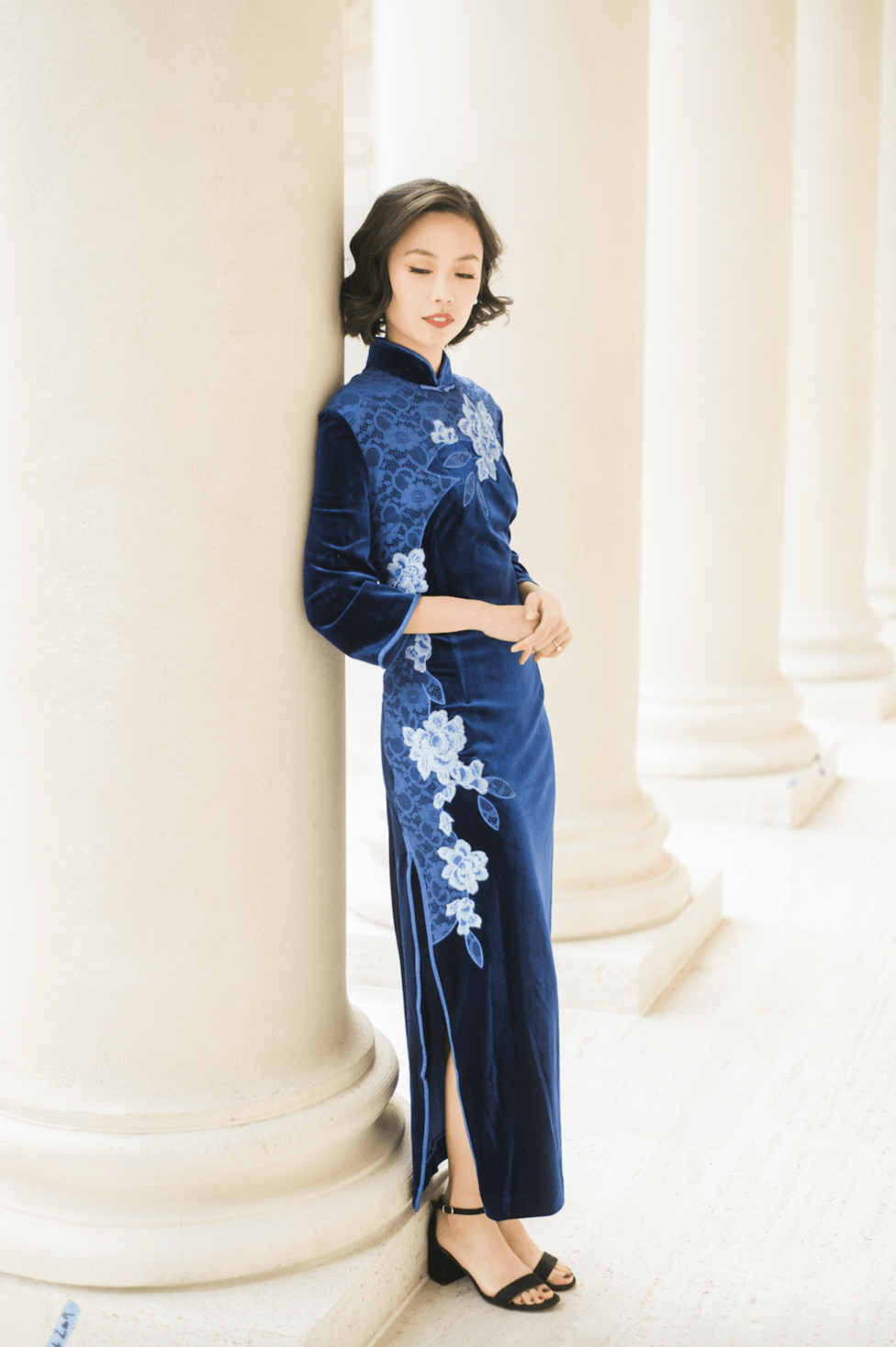 Connie Dress - Cheongsam - East Meets Dress