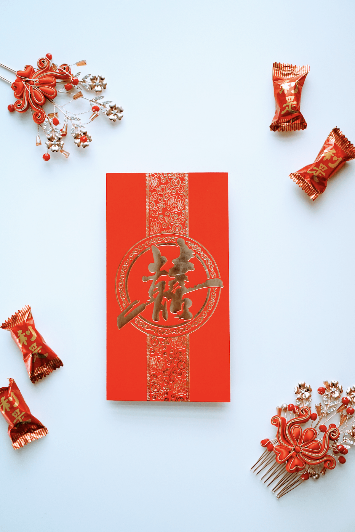 Fortune Red Envelopes [30] - Accessories - East Meets Dress