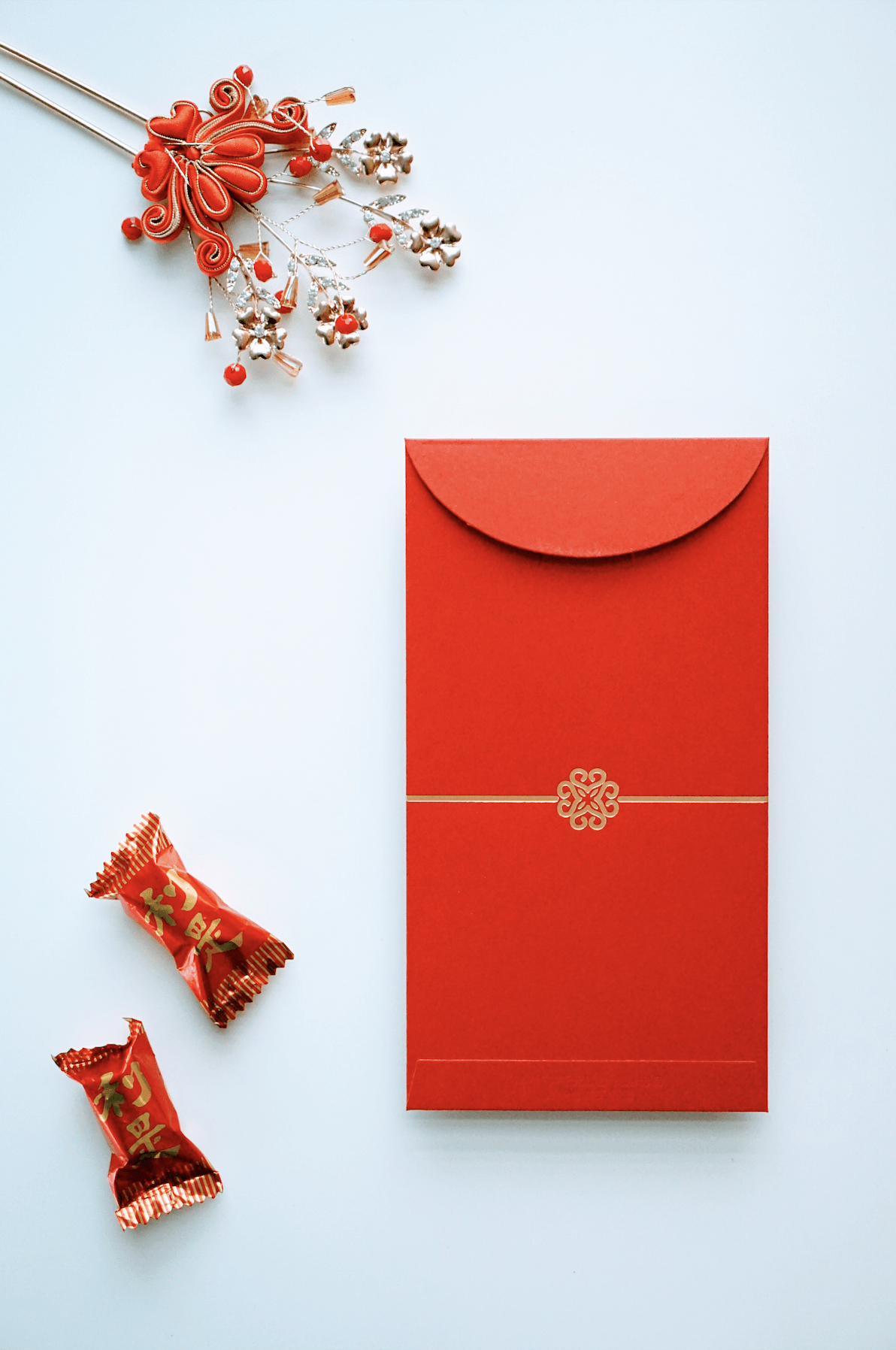Minimalist Red Envelopes [30] - Accessories - East Meets Dress