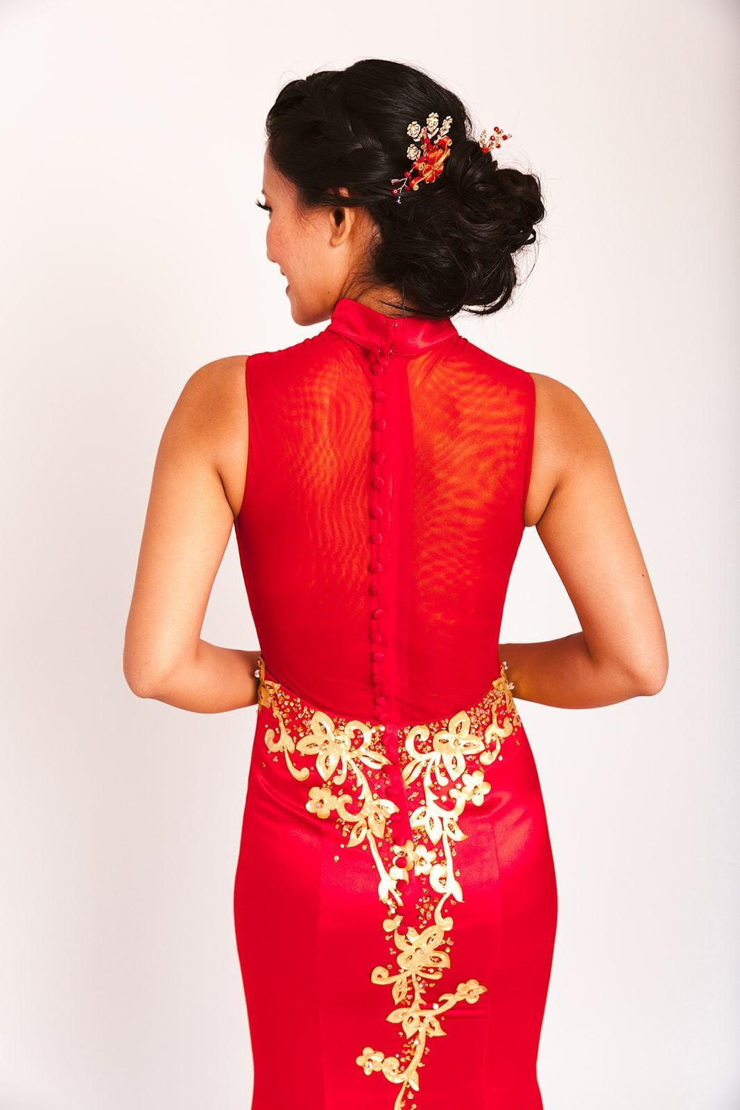 Vera Cheongsam - East Meets Dress