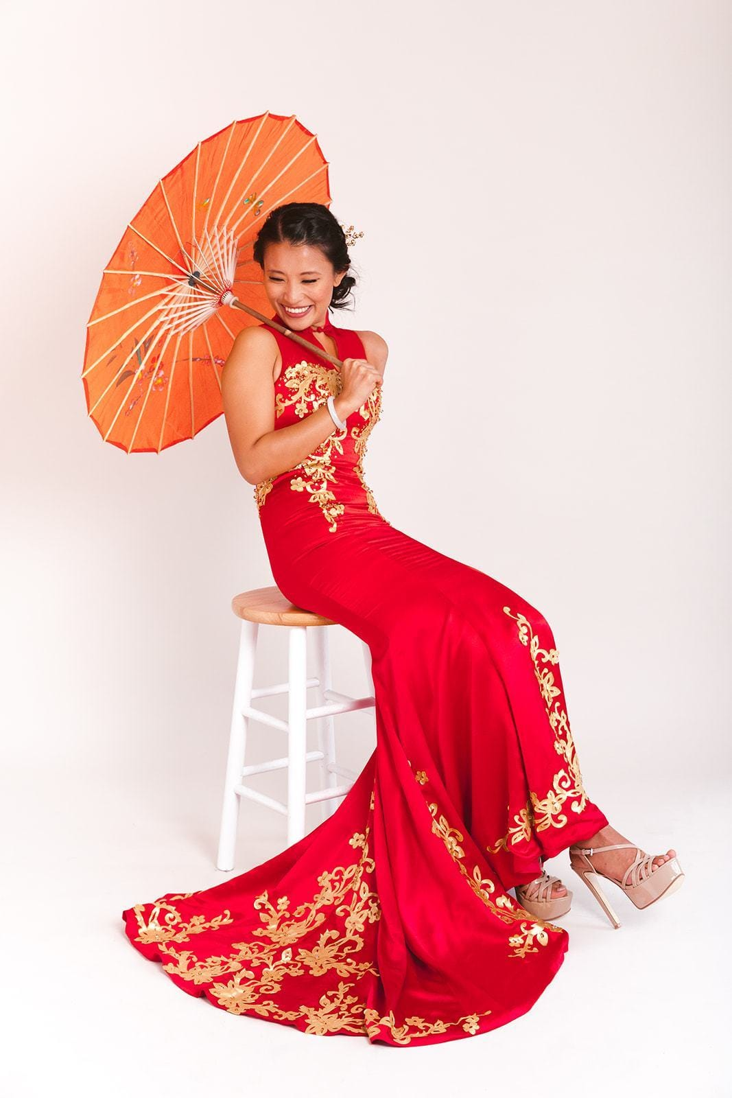 Vera Cheongsam - East Meets Dress - Chinese Wedding Dress