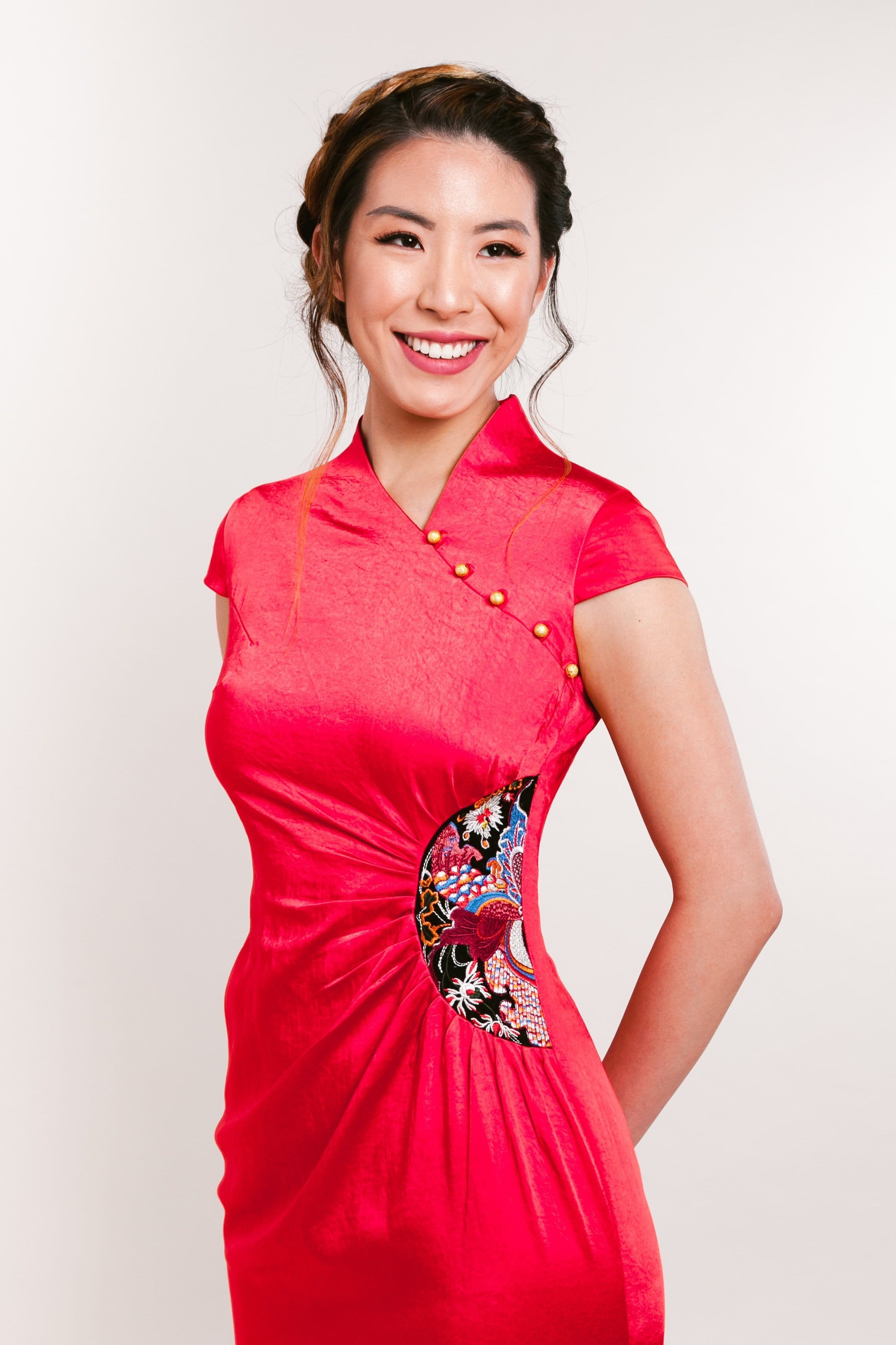 Leana Dress - Cheongsam - East Meets Dress
