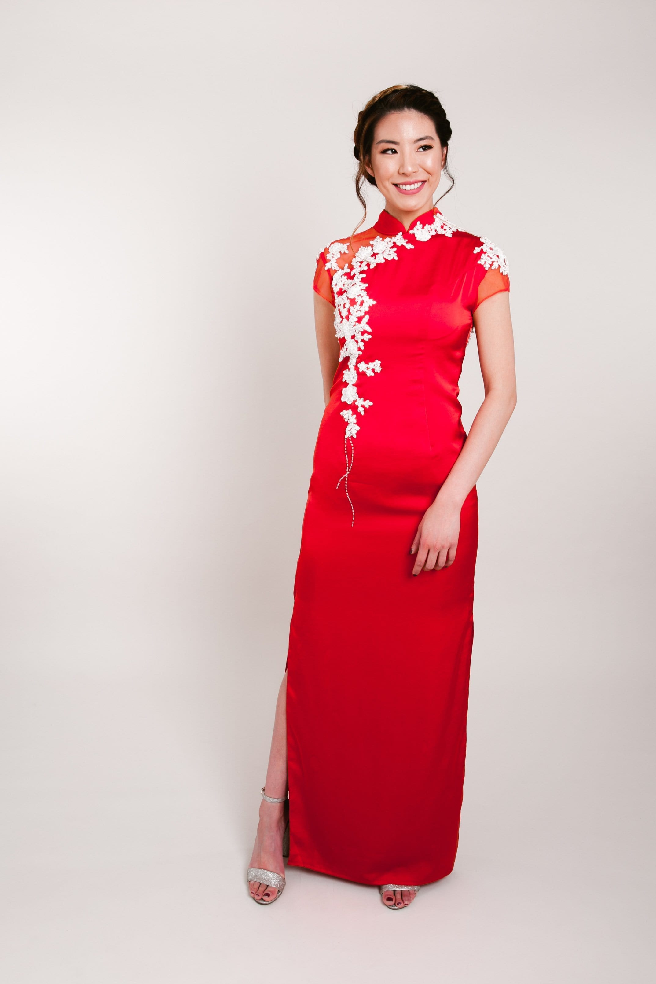 Michelle Bespoke Dress - Cheongsam - East Meets Dress