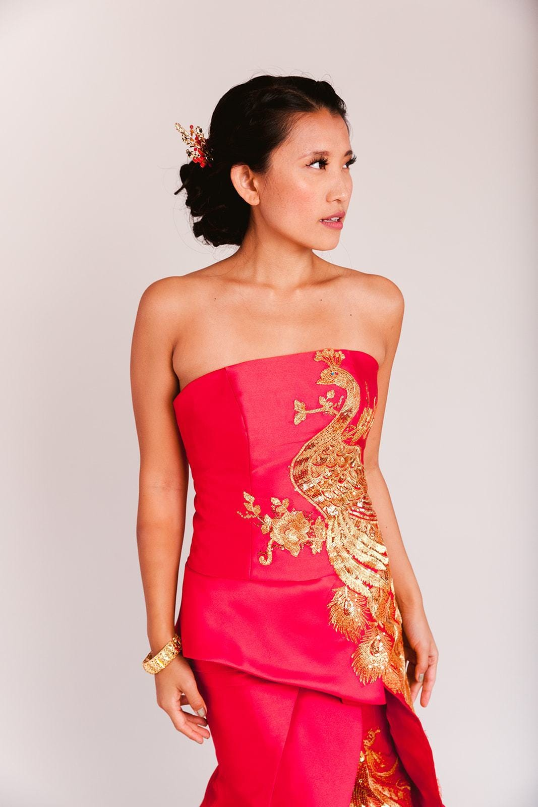 Nora Dress - Cheongsam - East Meets Dress