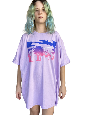Limited Edition Ombre Tee (Iridescent Logo)