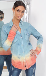 Brandi Soft Denim Shirt Dress