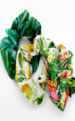 Ria Tropical Print 3 Pack Scrunchies - Missfiga.com