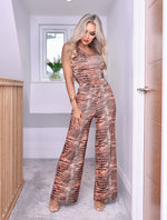 Steph Bodysuit & Palazzo Trouser Co-Ord Set