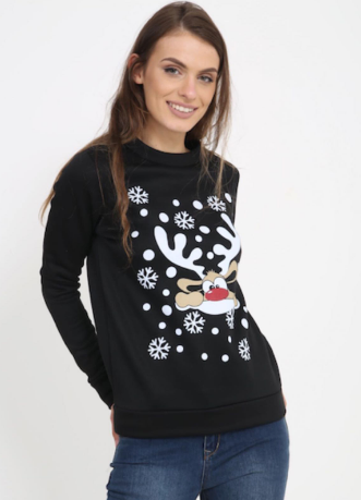 Funky Rudolph Christmas Jumper