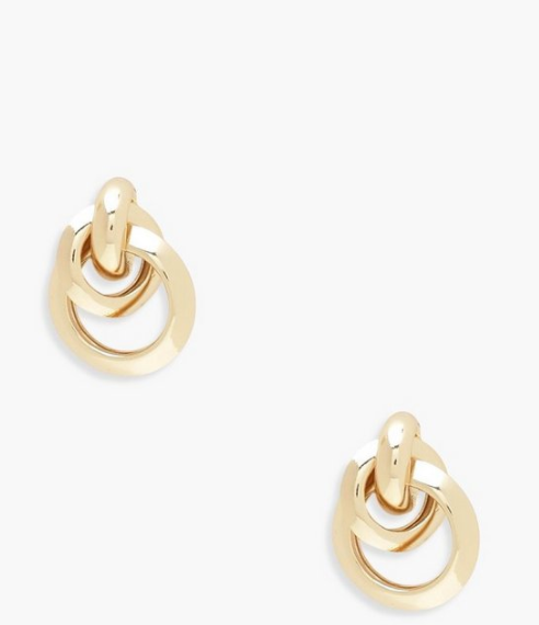 Victoria Multi Circle Linked Earrings - Missfiga.com