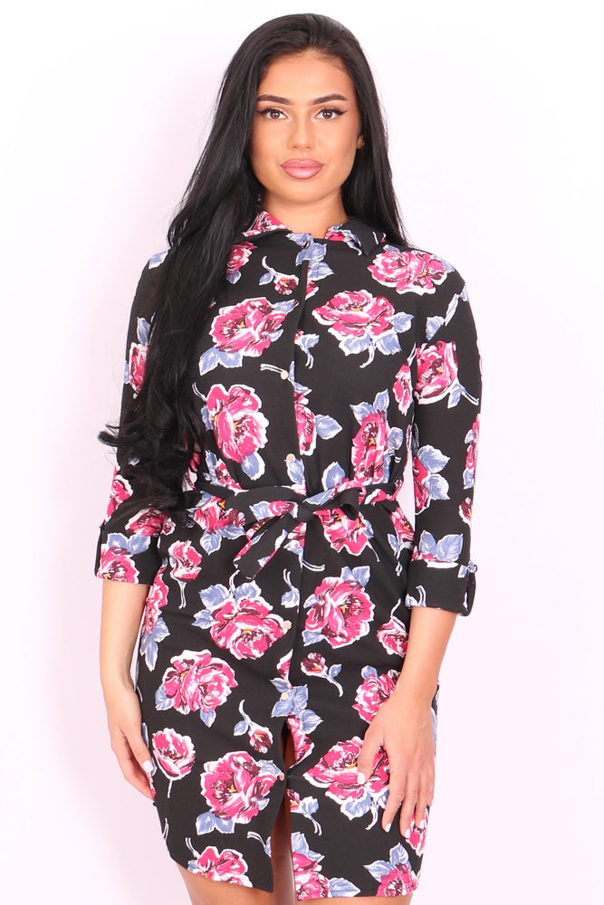 Larissa Floral Shirt Dress