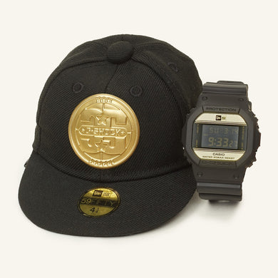 Casio G-shock X New Era DW-5600NE-1 Watch w/ Cap Case