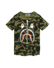 A Bathing Ape - BAPE - 1st Camo Shark Tee (Army Green)