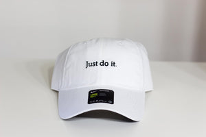 Nike Heritage 86 Just Do it Cap (White)