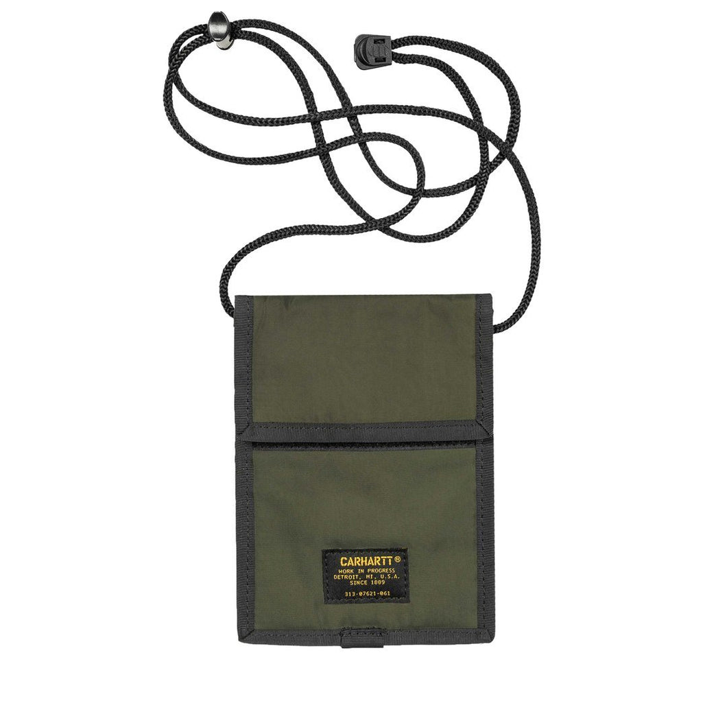 Carhartt Wip Military Neck Pouch (Army Green)
