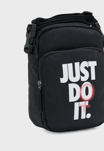 Nike Just Do It Heritage Crossbody Sling Bag (Black)