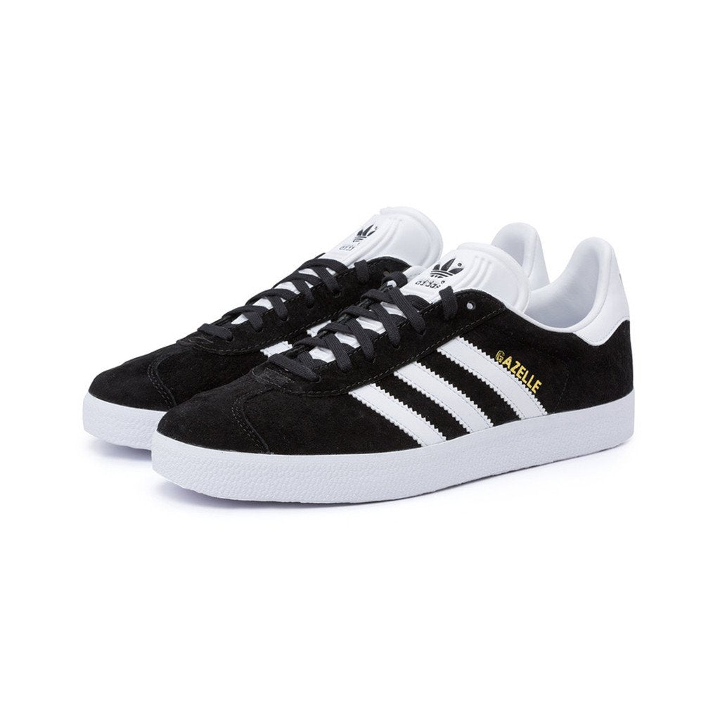 Adidas Originals Classic Gazelle Nubuck (Black/White/Gold)(BB5476)