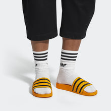 Adilette Classic Slides (Real Gold)