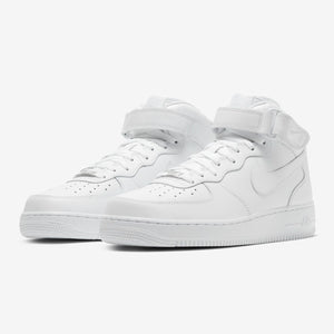 "Men's Nike Air Force 1 Mid '07 ""Triple White"" (315123-111)"