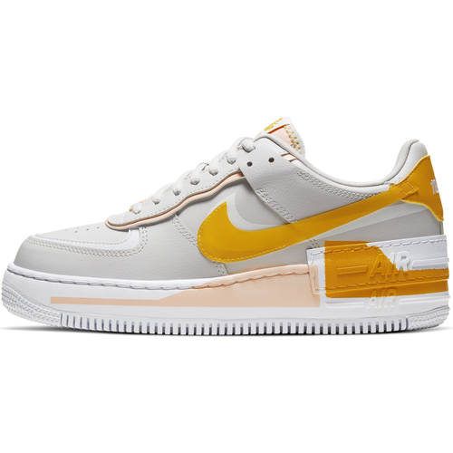 Women's Nike Air Force 1 Shadow SE (Vast Grey/Pollen Rise/Washed Coral)(CQ9503-001)