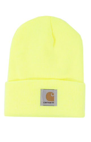 (PRE ORDER) Carhartt A18 Acrylic Watch Hat (Brite Lime)(NO CASH ON DELIVERY - ALL ORDERS MUST BE PAID FULL IN ADVANCE)
