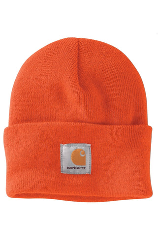 (PRE ORDER)Carhartt A18 Acrylic Watch Hat (Brite Orange)(NO CASH ON DELIVERY - ALL ORDERS MUST BE PAID FULL IN ADVANCE)