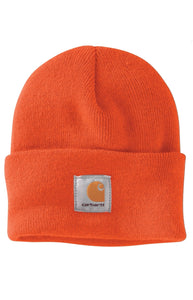 Carhartt A18 Acrylic Watch Hat (Brite Orange)