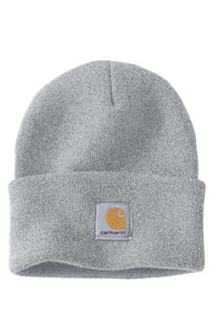 Carhartt A18 Acrylic Watch Hat (Heather Grey)