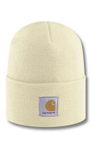 (PRE ORDER) Carhartt A18 Acrylic Watch Hat (Winter White)(NO CASH ON DELIVERY - ALL ORDERS MUST BE PAID FULL IN ADVANCE)