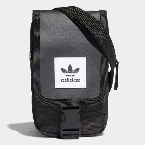 Adidas Originals Trefoil Map Bag (Black)
