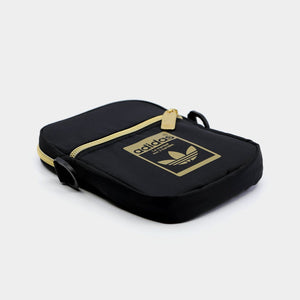 Adidas Originals Essential Festive Sling Bag (Black/Gold)(GF3199)