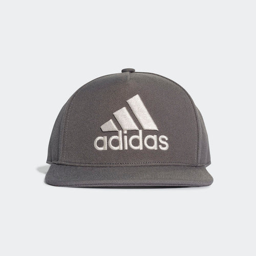 ADIDAS H90 Logo Cap (Grey Six Raw White)